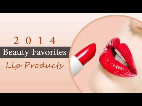2014 Beauty Favorites: Lip Products – YouTube