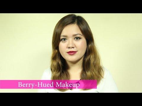 Berry-Hued Makeup – YouTube
