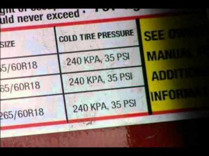 Checking Your Vehicle's Tire Pressure – YouTube