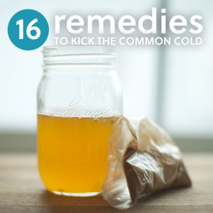 16 Remedies to Kick the Common Cold | Everyday Roots