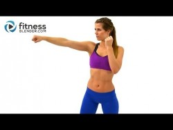 Cardio Kickboxing Workout to Burn Fat at Home – 25 Minute Kickboxing Cardio Interval Worko ...