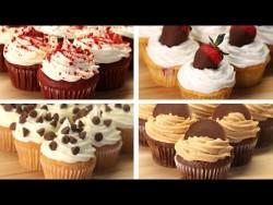 Cupcakes 4 Ways – YouTube