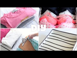 DIY Clothing Drawer Organization Tips   Rachel Talbott – YouTube