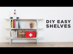 DIY Easy Shelves – YouTube