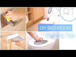 DIY Natural Bathroom Cleaning Tips – YouTube