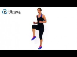 Fat Burning Cardio Workout – 37 Minute Fitness Blender Cardio Workout at Home – YouTube