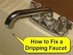 How to Fix a Dripping Faucet – YouTube