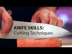 Knife Skills: Cutting Techniques – YouTube
