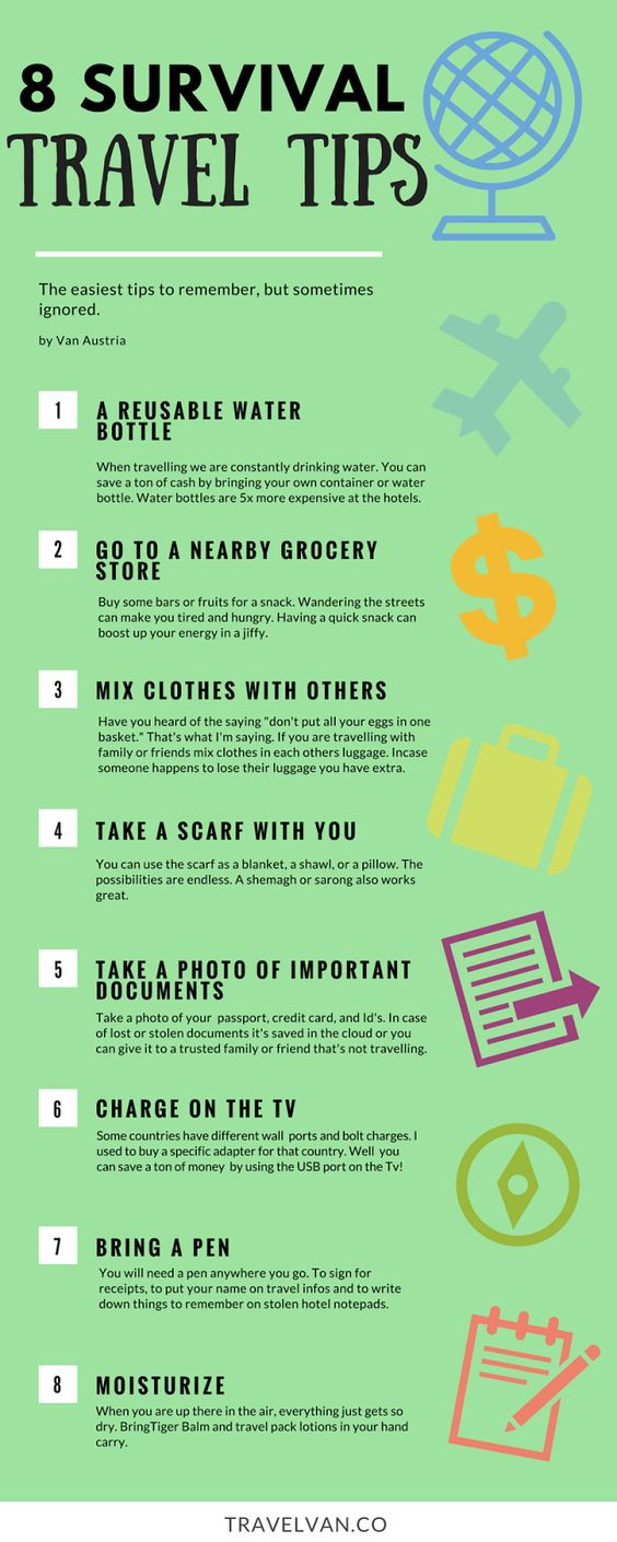 Survival, Tips and Travel on Pinterest
