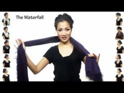 25 Ways to Wear a Scarf in 4.5 Minutes! – YouTube
