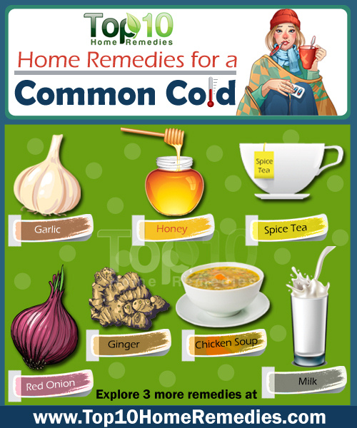 Home Remedies for Common Cold | Top 10 Home Remedies