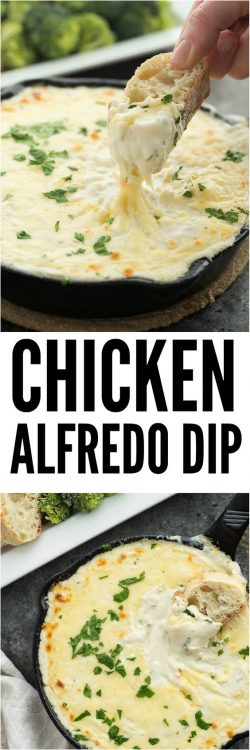 How to make Chicken Alfredo Dip