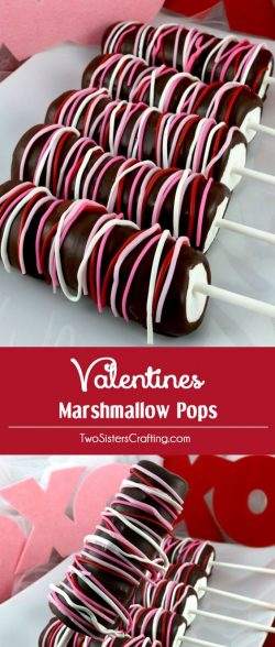 How to make Valentine mallows