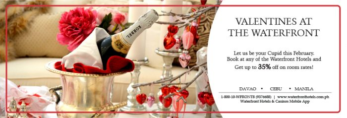 Valentines at the Waterfront | Waterfront Hotels
