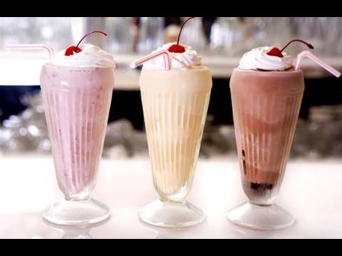 Easiest Milkshake Ever – 3 Ingredient Recipe ♥ – YouTube