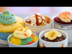 1 Minute Mug Cakes: 5 Different Flavors Made in the Microwave – Gemma's Bigger Bolde ...