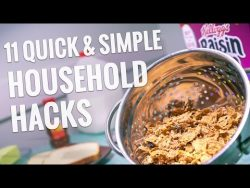 11 Quick & Simple Household Hacks – YouTube