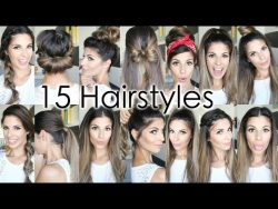 15 Back To School Heatless Hairstyles – YouTube