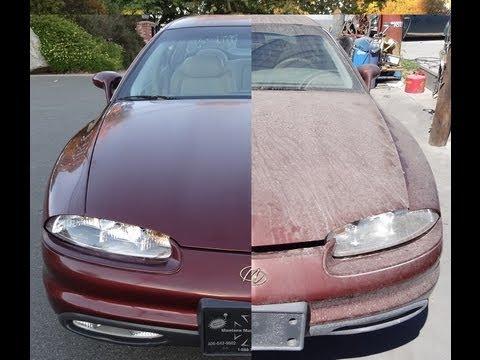 Buffing Car DIY