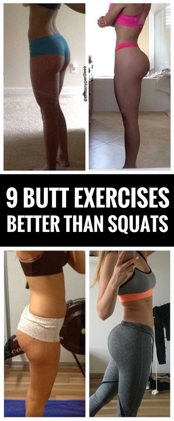 9 Butt Moves Better Than Squats