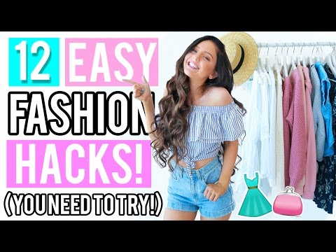 12 Clothing Hacks Everyone NEEDS To Try!