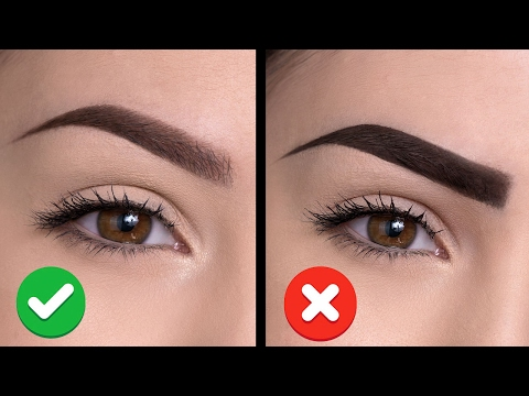 6 common eyebrow mistakes