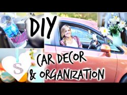 DIY Car Decor & Organization! – YouTube