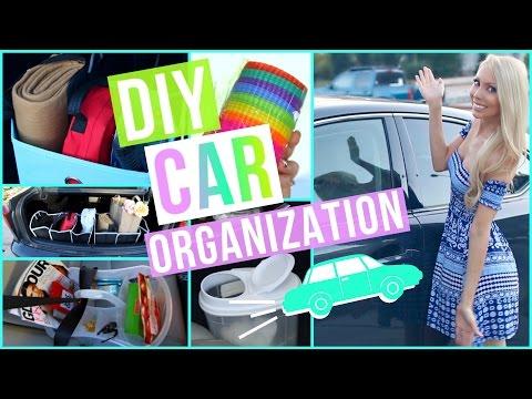 DIY Car Organization Ideas! – YouTube