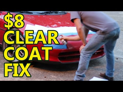 DIY Car Projects: $8 clear coat fix – YouTube