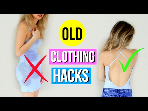 5 DIY Clothing Hacks Every Girl Must Know! – YouTube