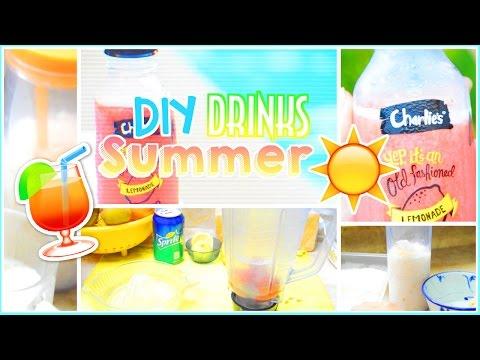 Easy & Healthy Summer Drinks/Beverages