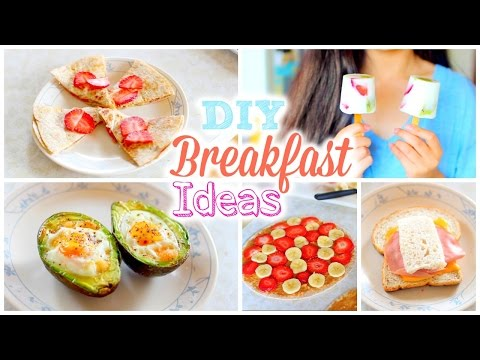 DIY Easy and Quick Back to School Breakfast Ideas