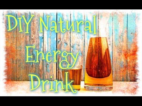 Homemade Healthy Energy Drinks