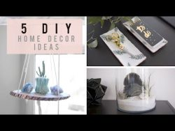 5 Home Decor Ideas for Spring/Summer