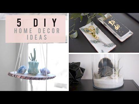 5 Home Decor Ideas for Spring/Summer