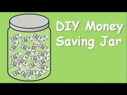 DIY Money Saving Jar
