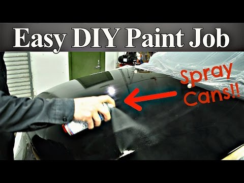 DIY Paint Job Using Nothing But Rattle Cans