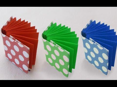 How to Make a Mini Origami Book