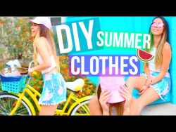 DIY Summer Clothes Tumblr Inspired! Easy & Affordable! – YouTube