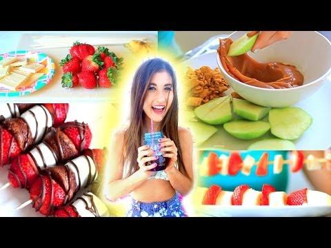 Yummy &  Easy Snacks to Make! – YouTube
