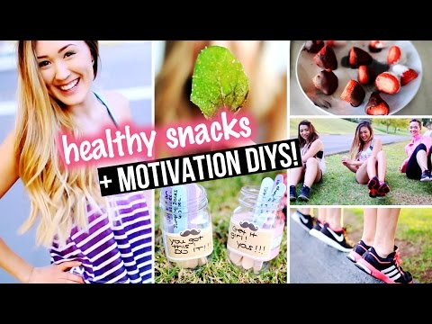 DIY Workout Motivation, Exercise Top & Healthy Snacks for Junk Food Lovers