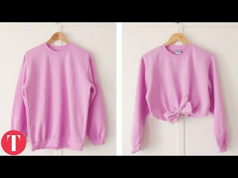 10 Easy Ways You Can Reuse Your Old Clothes – YouTube