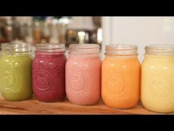 5 Healthy Breakfast Smoothies! – YouTube
