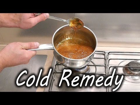 Homemade Cold and Flu Remedy – YouTube