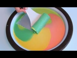 Homemade Ice Cream Rolls Maker  – YouTube
