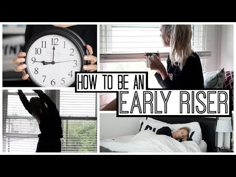 How To Be a Morning Person – YouTube