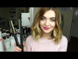 How to Curl Short/Medium Length Hair with Straighteners