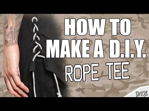 How To Make A Rope Tee