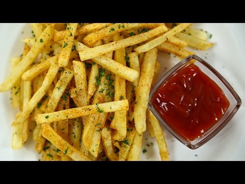 How to Make Crispy French Fries Recipe – YouTube