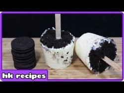 How to make Oreo Popsicles | Cooking for Kids